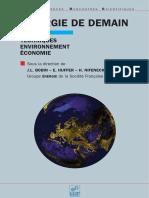 Lenergie de Demain Techniques - Environnement - Economie