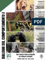 Al via un ciclo di seminari sul comportamento animale