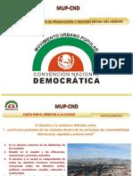 Presentación Jaime Rello MUP-CND