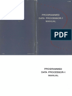 F15B PDP1 Handbook 1961