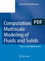 Computational Multiscale Modeling of Fluids and Solids - Theory and Applications 2008 Springer