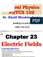 Electric Force & Electric Field I