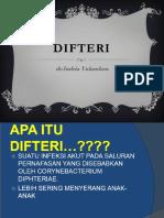 Difteri Dara