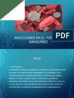Infecciones en El Torrente Sanguíneo