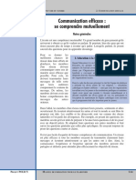 Communication Efficace (se Comprendre Mutuellement).pdf