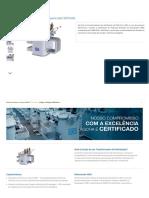 Transformador de Distribuição Pequeno (até 300 kVA) 30 a 300 kVA WEG