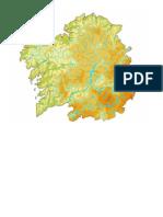 Mapa Fisico Galicia