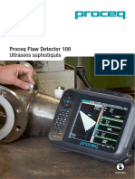 Proceq Flaw Detector 100 _Sales Flyer_French