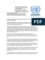 Somalia's Federal and state governments reach agreement on new Justice and Corrections framework