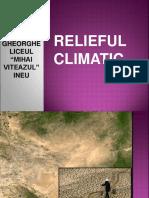 3. Tip de Relief Climaticdesertic