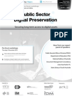 Public Sector Digital Preservation