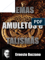 Gemas Amuletos Talismas - ERNESTO BOZZANO