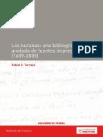 Tarrago Los Kurakas, Una Bibliografía de Fuentes