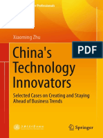 Xiaoming Zhu China's Technology Innovators Selected Cases on Creating and Staying Ahead of Business Trends