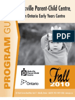 Fall Program 2010