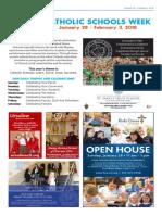 Catholic Schools Week 2018 wkt