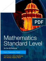 Mathematics SL - Exam Preparation Guide - Fannon, Kadelburg, Woolley and Ward - Cambridge 2012