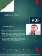 Stress & Adaptasi