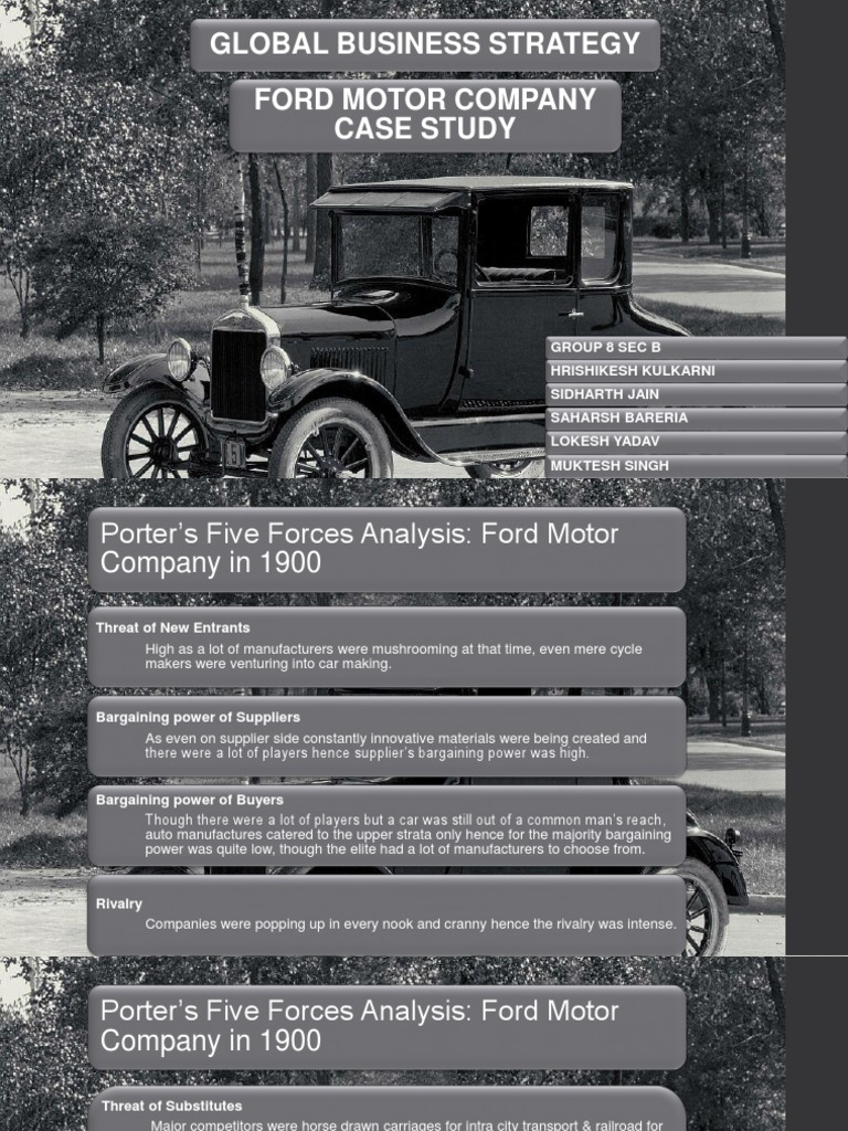 ford motor company international business