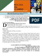 La Eucaristía en Nuestro Camino (35) HORA SANTA Con San Pedro Julián Eymard.