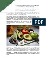 10 Alimentos Que Aceleram o Metabolismo e Ajudam Você a Perder Peso Mais Rápido – Projeto Fit 60D