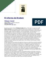 Brodeck Claudel