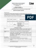 Especificaciones Técnicas CM-4-2016