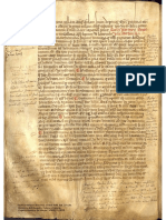 Copia manuscrita en latín de los 'Decreta' de León y transcripción al español