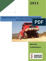 [20 Horas] Mantenimiento, Conducción Segura y 4x4 de Autobombas Forestales