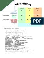 Articles Exercice Grammatical Guide Grammatical Unaun Mento 91073