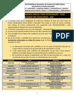 Sre Uberlândia - Designação Centralizada - Versão Corrigoda e Atualizada Em 25 de Janeiro de 2018