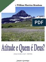 Atitude e Quem é Deus?