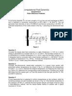 Assignment 2 (FD 2D Problems)