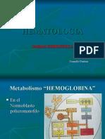HEMATOLOGIA Anemia Ferropenica