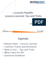 GeorgiaFIRST 2015 - AP Lessons Learned Tips and Tricks