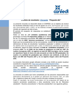 Análisis Encuesta -Proyecto Delta G- VF