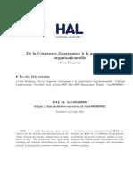 Corporate Gouvernance