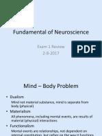 Fundamental Review Exam 1
