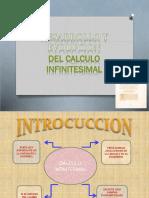 Desarrollo y Evolucion Del Calculo INFINITESIMAL