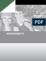 I Teen Worksheets 8º