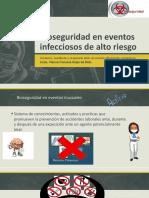 Bioseguridad en Eventos Infecciosos de Altos Riesgos