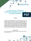 MinModern - La Importancia de Un Modelo de Planificación Estratégica Para El Desarrollo de Ciudades Inteligentes