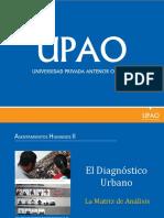 Diagnostico Urbano Matriz de Analisis