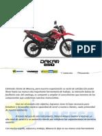 Dakar 250 Yumbo