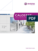 Technical  Information TI 1404_ CALOSTAT® (3)