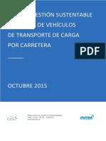 Guía de Gestión Sustentable de Vehiculos de Flotas de Transporte de Cargas Itba