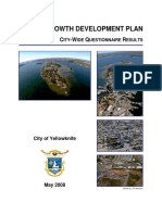 1smart Growth Development Plan City Wide Questionnaire Results