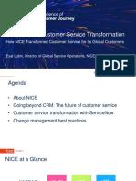 Nice Roadmap to Customer Service Transformation Tsw Template 25aug17 171023170808