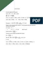 Cálculos Estequiometria
