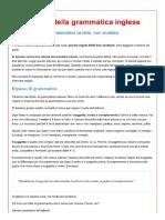 Le Basi Della Grammatica Inglese - Mindcheats